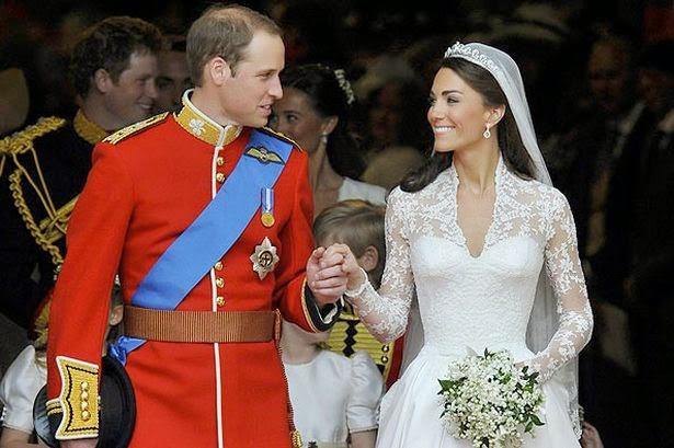 Boda real de Kate y William