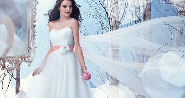Vestidos de novias inspirados en las princesas de Disnet