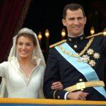 Letizia y Felipe de España