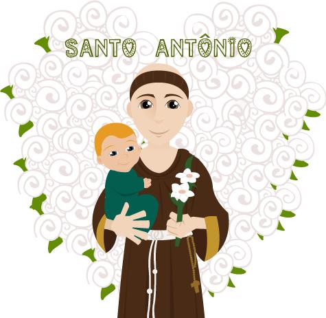 San Antonio en la decoración de nuestro matrimonio
