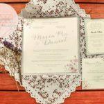 { Pía y Daniel } – Invitaciones de nuestro matrimonio religioso ♡