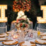 3 pasos para aterrizar mi estilo de decoración de matrimonio