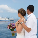 { Paola + Fernando } :: Matrimonio civil en el mar