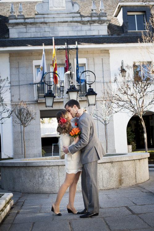 Roxana jes s matrimonio civil en espa a - Casarse rapido en madrid ...