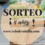 { SORTEO } :: ¡4 AÑOS de Velo de Vainilla!
