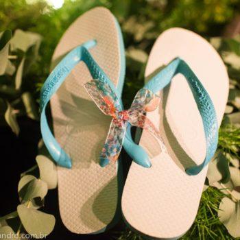 sandalias como recuerdo de boda