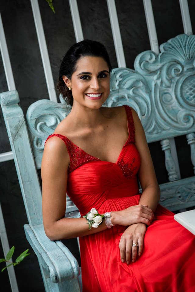 Vestido rojo invitada de boda