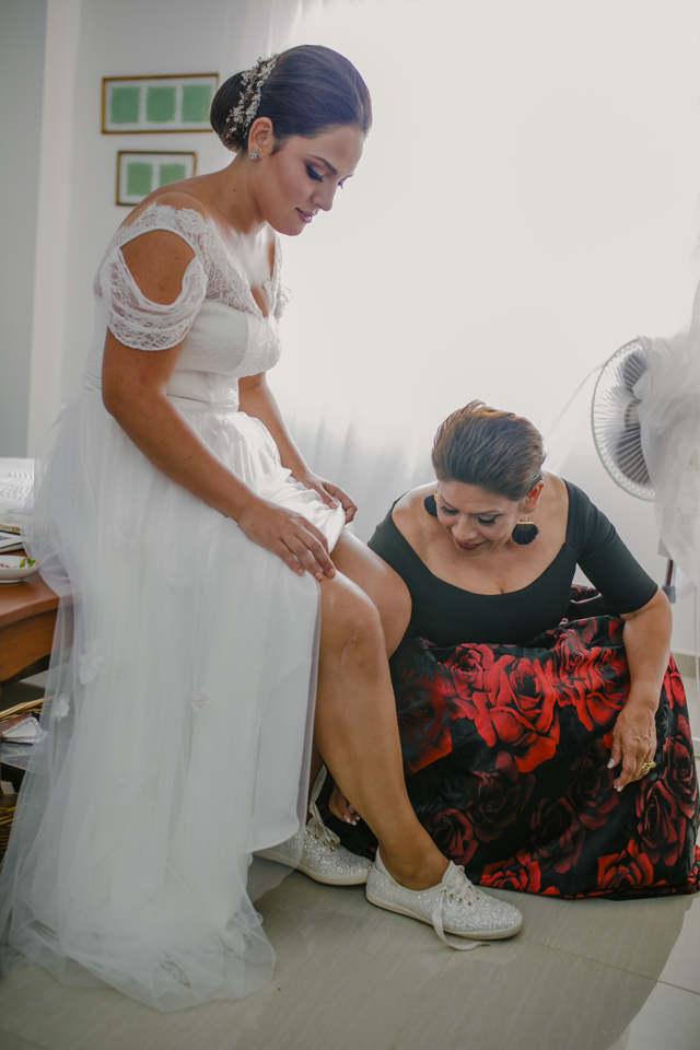 Preparativos de la Novia - Matrimonio en el Marriott