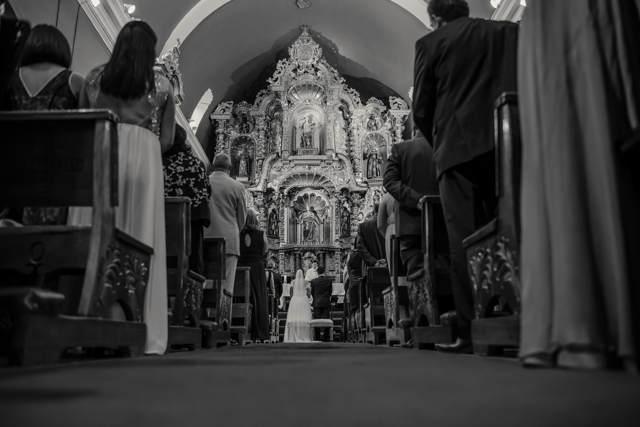Matrimonio en la Iglesia Maria Magdalena de Pueblo Libre