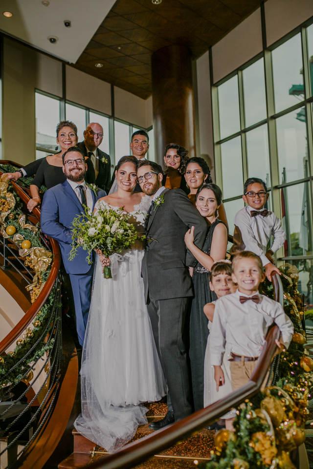Familia de la novia - Matrimonio en el Marriott