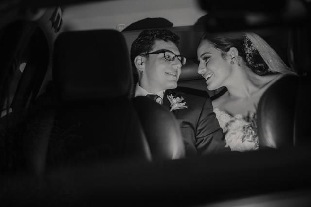 Fotos de recién casados - Matrimonio en el Marriott