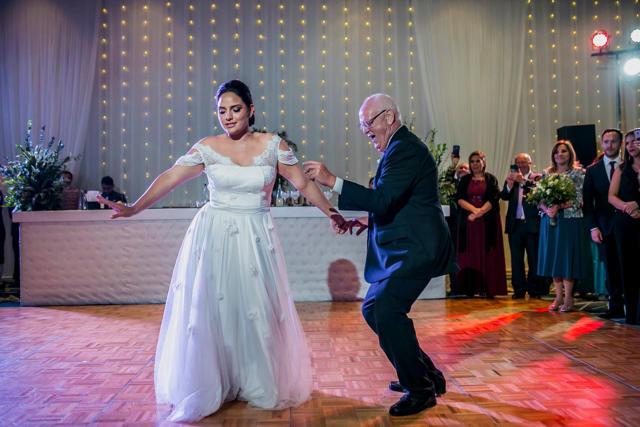 Pista de baile - Matrimonio en el Marriott