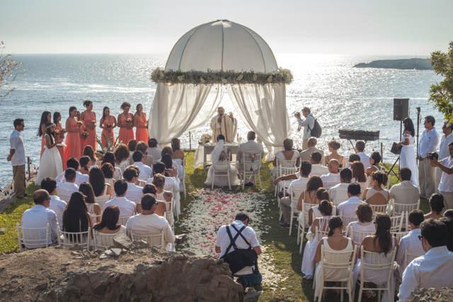 ceremonia de matrimonio en la playa