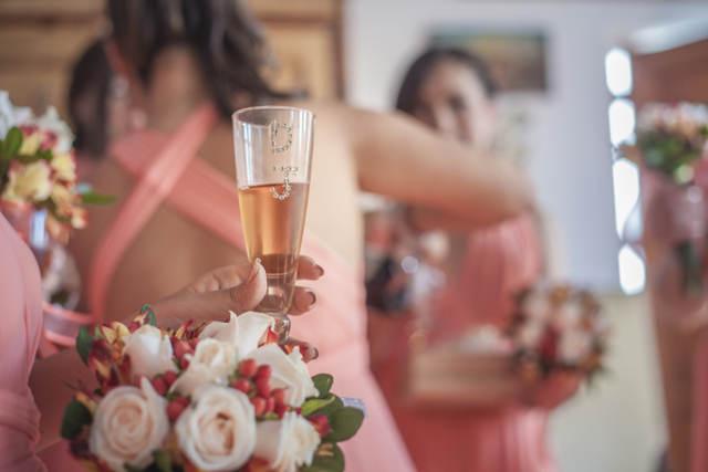 preparacion de novia mesas de invitados boda damaris y juan