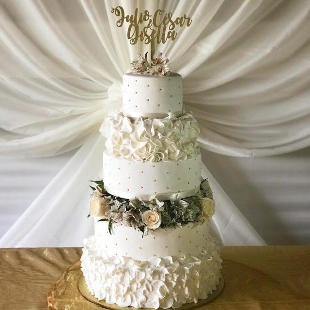 torta de matrimonio clásica