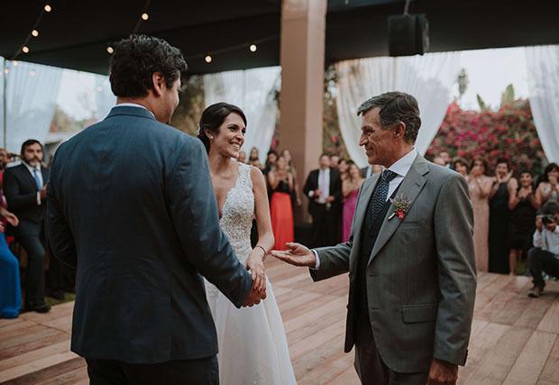 baila de la novia con su papa