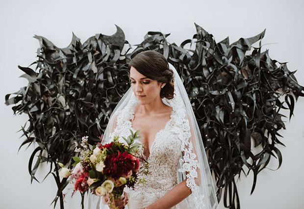 novia antes de la boda