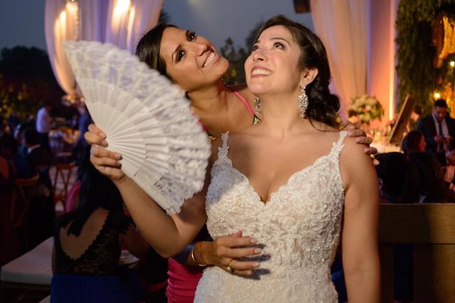 novia bailando
