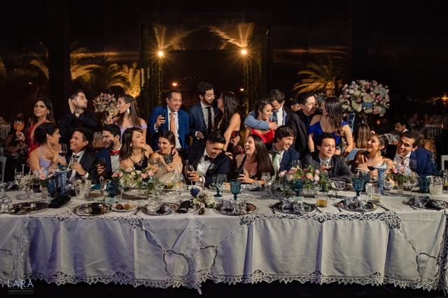 fotos de los novios con sus invitados