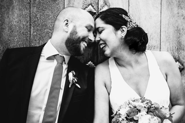 Mari y Leandro en su sesión de bodas en españa
