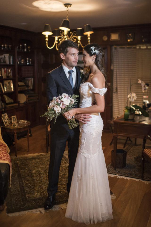 vestido de novia de ale chavez