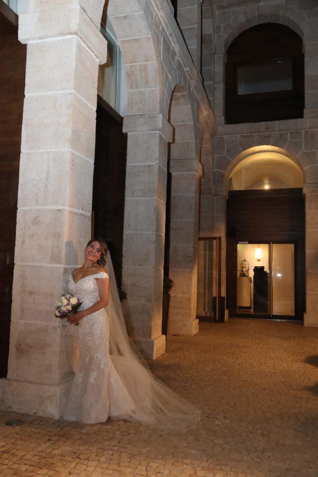 vestido de novia de luna blanco atelier