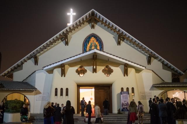 la iglesia donde se llevará a cabo la boda religiosa