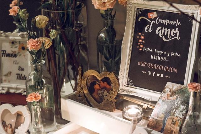 Detalles de la fiesta del matrimonio religioso