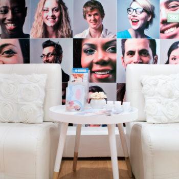sala de espera del centro dental santa cecilia lima peru