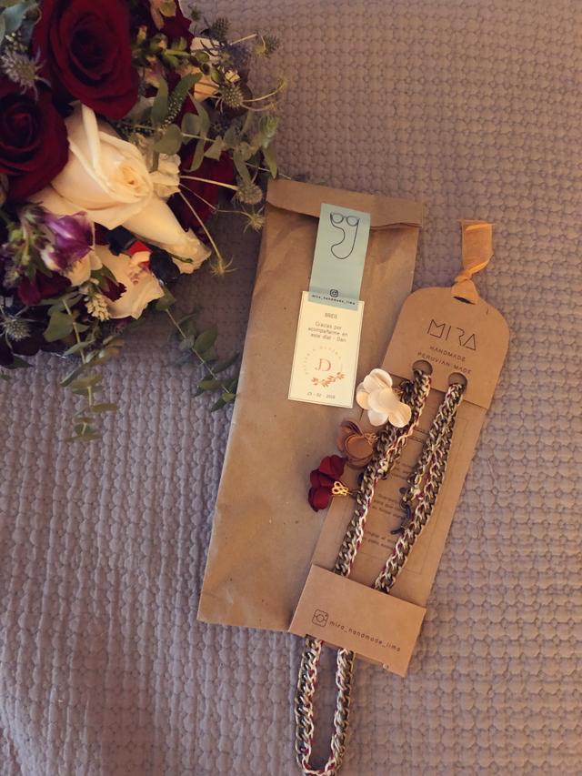 detalles de agradecimiento en una boda