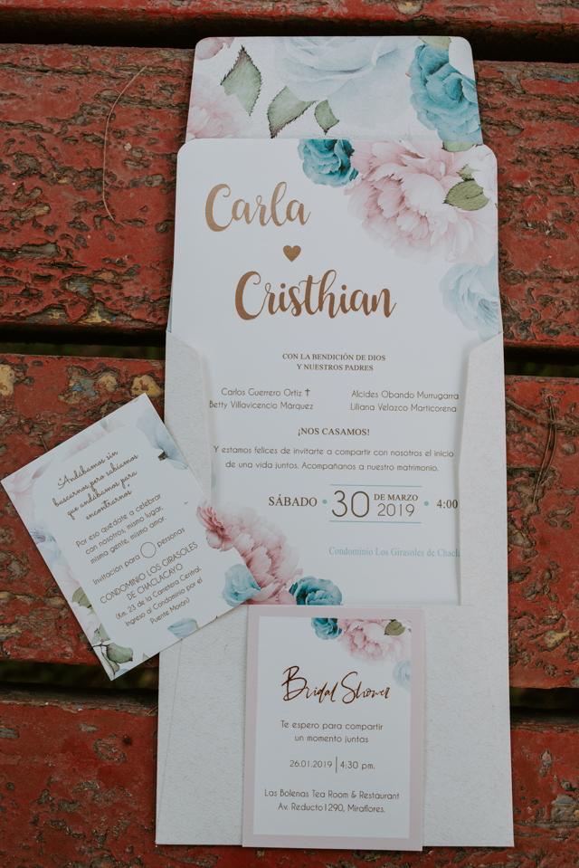 invitaciones de boda en tonos pastel