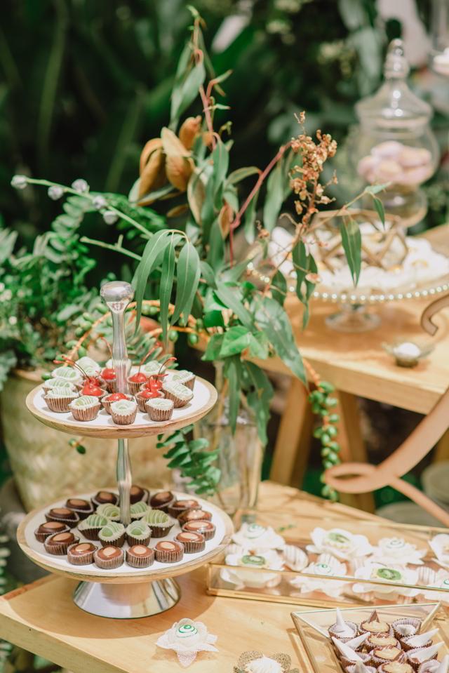 Mesa de dulces de Silvana Paz para el Baby Shower de Lucas