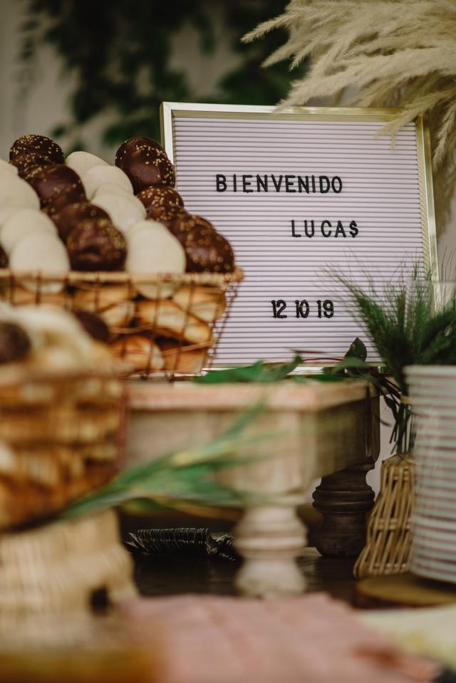 Blanca Teresa Eventos en el Baby Shower de Lucas